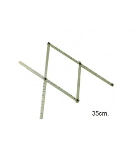 Pantografo de madeira 35 cm.