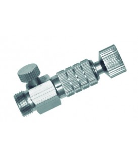 """Connettore rapido con regolatore di pressione 1/8""""f a 1/8""""m."""