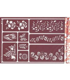 301003 Plantillas flexibles - Flex Stencils 15 x 21