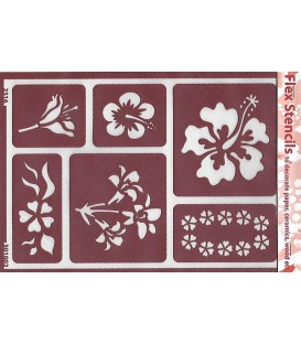 301002 Plantillas flexibles - Flex Stencils 15 x 21