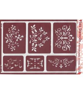 301005 Plantillas flexibles - Flex Stencils 15 x 21
