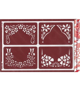301006 Plantillas flexibles - Flex Stencils 15 x 21
