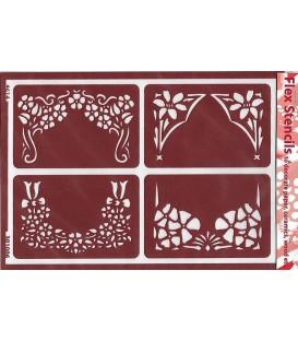 301006 Plantilles flexibles - Flex Stencils 15 x 21