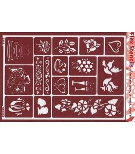 301007 Plantilles flexibles - Flex Stencils 15 x 21