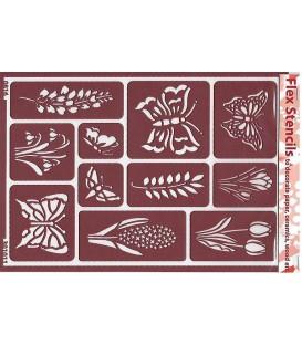 301011 Plantillas flexibles - Flex Stencils 15 x 21