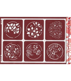 301013 Plantillas flexibles - Flex Stencils 15 x 21