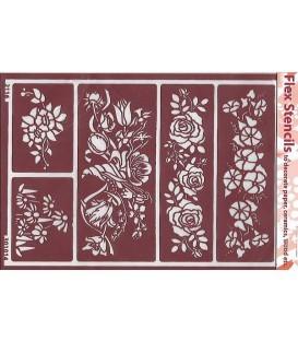 301014 Plantilles flexibles - Flex Stencils 15 x 21