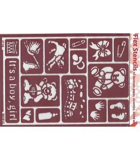 301015 Plantilles flexibles - Flex Stencils 15 x 21