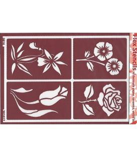 301017 Plantillas flexibles - Flex Stencils 15 x 21
