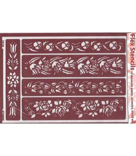 474006 Plantillas flexibles - Flex Stencils 15 x 21