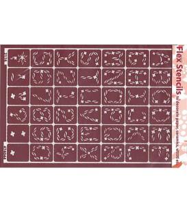 474044 Plantilles flexibles - Flex Stencils 15 x 21