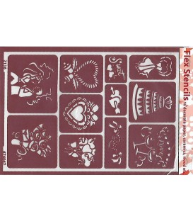 474047 Plantilles flexibles - Flex Stencils 15 x 21