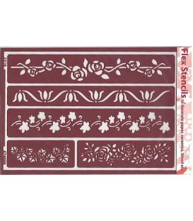474068 Plantilles flexibles - Flex Stencils 15 x 21