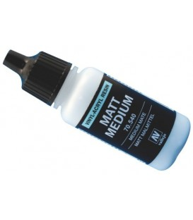 Medium acrilic mat Vallejo 17 ml.