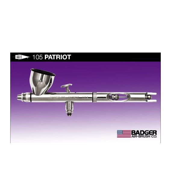 a) Badger PATRIOT 105 0.33 airbrush.