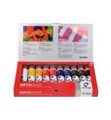 Set colori acrilici Van Gogh Basic 10 tubi