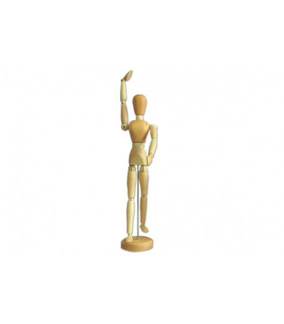 Articulated Wooden Mannequins Human Figure 20 cm.