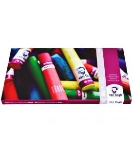 03) Estoig cartro 60 Pastels a l'Oli Van Gogh 95860061