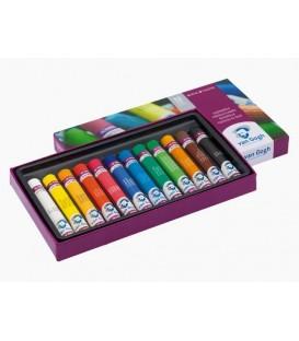 01) Estoig cartro 12 Pastels a l'Oli Van Gogh 95C12