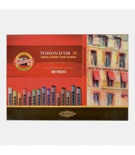 03) 36 Soft pastels cardboard box Toison d'Or Koh-I-Noor 8515