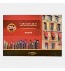03) Estoig cartro 36 Pastels Secs Toison d'Or Koh-I-Noor 8515