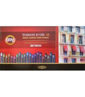 04) 48 Soft pastels cardboard box Toison d'Or Koh-I-Noor 8516