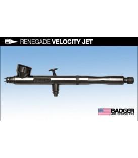 e) Aerografo Badger RENEGADE VELOCITY JET 0.21
