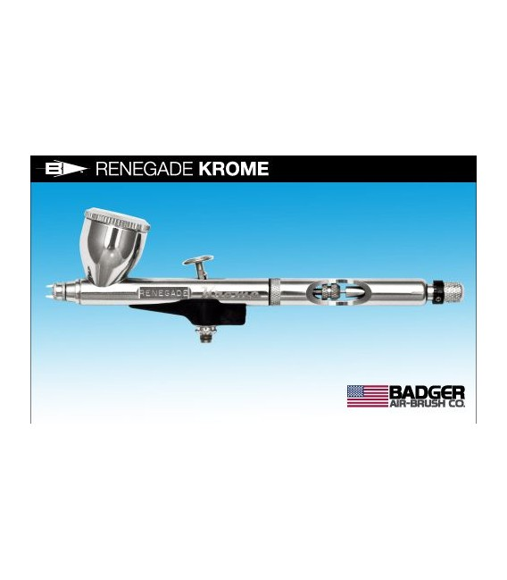 i) Aerografo Badger RENEGADE KROME 2 in 1 (0.21/0.33)