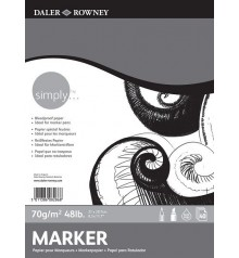 05) Bloc Paper Daler Rowney Simply 40f 70g A3 29,7x42