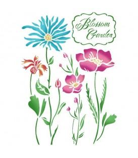 Stencils 21x29,7 Blossom garden KSG366