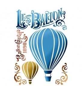 Plantilles - Stencils 21x29,7 Le ballon KSG372