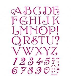 Stencils 21x29,7 Alphabet KSG379