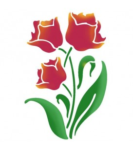 Plantilles - Stencils 21x29,7 Tulips KSG388