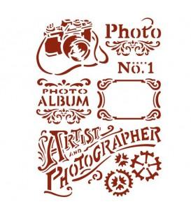 Plantilles - Stencils 21x29,7 Photo KSG394