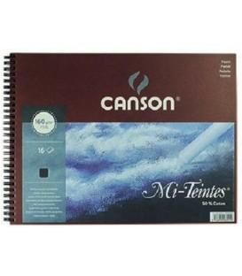 05) Album Canson Paper Mi-Teintes Black 16s 160g 24x32 cm