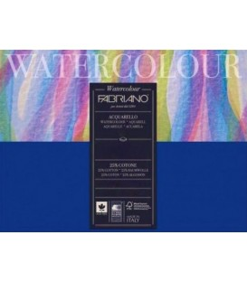 Watercolor Paper Bloc Fabriano 12s 300gr Cold Press 18x24