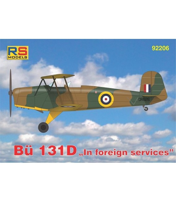 Bucker BU 131D In foreign services 92206