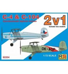 C4+C104 Double kit 92204