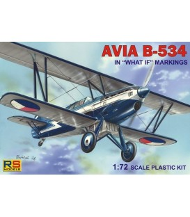 Avia B.534 IV. What if and Zurich 1937 92080