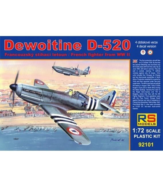Dewoitine D.520 Free France 92101