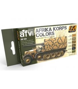 AK550 Afrika Korps Color Set 6 u. 17 ml.