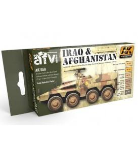 AK558 Iraq and Afghanistan Acrylic Set 6 u. 17 ml.