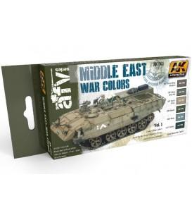 AK564 Middle East War Colors Vol.1 6 u. 17 ml.
