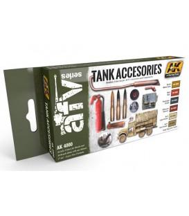 AK4000 Tank Accesories 6 u. 17 ml.