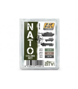 AK4001 Nato Colors Set 3 u. 17 ml.