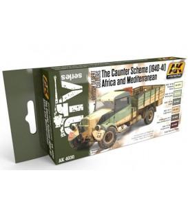 AK4030 The Caunter Scheme 1940-41 Set 6 u. 17 ml.