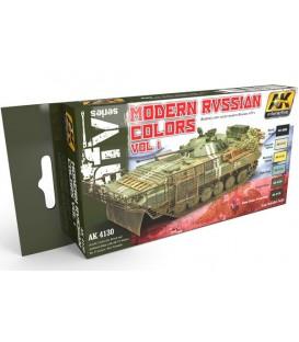 AK4130 Modern Russian Colours Vol.1 6 u. 17 ml.