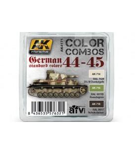 AK4171 German Standard 44-45 Color Combo 3 u. 17 ml.