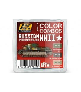 AK4173 Russian WWII Standard Colors Combo 3 u. 17 ml.