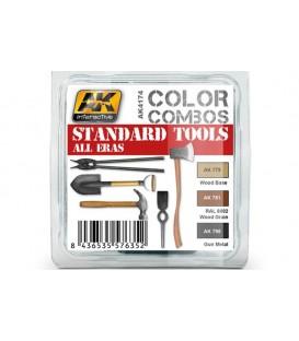 AK4174 Standard Tools all eras Color Combo 3 u. 17 ml.